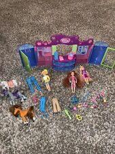 Polly Pocket Mall Closet Playset Dolls Clothes Accessories Horses 2004