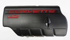 05-07 LS2 Corvette Fuel Rail Engine Coil Cover LH NEW GM BLACK
