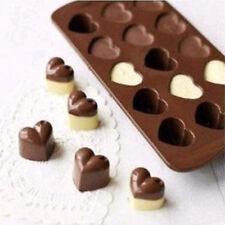 MJ003 New Arrival loving heart Shape For Chocolate Handmade Mold Cake Mold