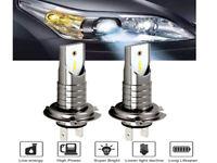 Par LED H7 110W 6000K CSP Ampoules Voiture Kit Feux Phare Anti Lampe Xénon Blanc