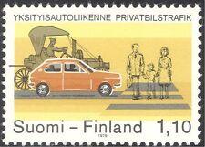 Finland 1979 Cars/Road Safety/Transport/Motors/Motoring 1v (n26048)