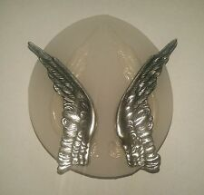 ANGEL WINGS - SILICONE SILICONE FLEXIBLE PUSH MOLD POLYMER CLAY FIMO MOULD BAKE