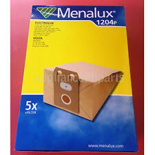 NEW MENALUX VACUUM BAGS ELECTROLUX, VOLTA - 5 BAGS + FILTER - 1204P