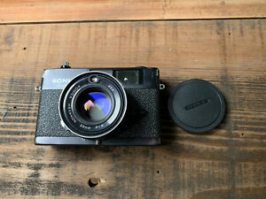 Konica Auto S3 35mm Rangefinder Camera - TESTED