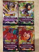 Dragon Ball Super Malicious Machinations Booster Pack x4 Sealed New