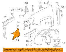 GM OEM Fender-Rear Shield 84023359