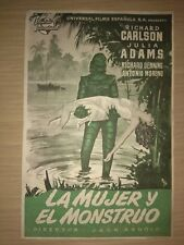 Creature from the Black Lagoon (Universal International, 1954). Spanish Herald