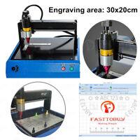 300x200mm Electric Sign Marking Machine Metal Nameplate Steel Dot Peen Engraving