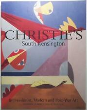 Christie's Auction Catalog TCA-9315: Post-War Art March 2002 South Kensington
