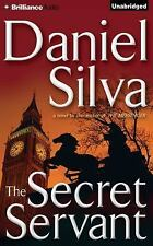 THE SECRET SERVANT unabridged audio book on CD by DANIEL SILVA