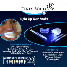 DISPOSITIVO PROFESSIONALE SBIANCANTE A LED DENTI DENTAL WHITE RX SORRISO SUPER