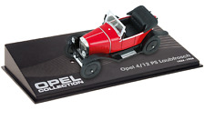 OPEL 4 / 12 PS - VOITURE MINIATURE COLLECTION - IXO 1/43 CAR AUTO-119