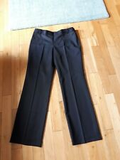 TED BAKER Black Tailored Trousers - Size 4 UK14 L33 - Great Condition - Women's