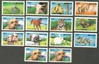 AOP Bhutan #1106a-l 1995 Year of the Boar ANIMALS set of 14 used