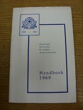 1969 Cricket: English Schools Association - Handbook. Thanks for taking the time
