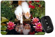 Turkish Van Cats by Fish Pond Computer Mouse Mat Christmas Gift Idea, AC-164M