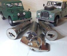 Land Rover Series 1 2 2a & 3 Door Lock Barrel & Matching Keys 320609 Full Set x3
