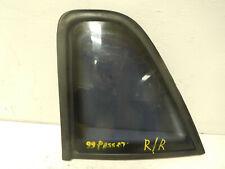 1999 Volkswagen Passat Right Rear Door Glass Window 43R-00048