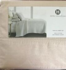 Hotel Collection Ivory Luxury 100% Cotton TWIN XL Sheet Set