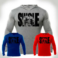 Iron Gods SWOLE Hoodie Logo Weight Training Bodybuilding Gym Pullover Workout
