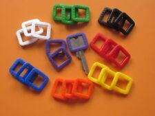 1 - 8 Stück Schlüsselkennringe eckig 8 Farben ,Schlüsselkennring,Schlüsselkappe