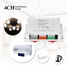 SONOFF 4CH 4 Channel 10A 2200W 2.4Ghz Smart Home WIFI Wireless Switch APP Remote