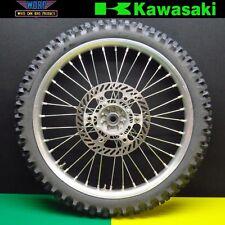 2001 Kawasaki KX125 KX250 Front Wheel Assembly Rim Hub Spokes Tire 1993-2002