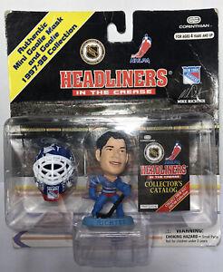 Corinthian NHL Headliners Goalie w/ Mask 1998 Mike Richter NY Rangers Hockey
