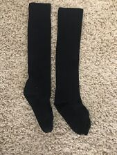 Youth Baseball Athletic Socks Black Sz M/L Used in good condition