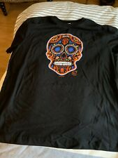 2020 New Era SF San Francisco Giants Spring Training Sugar Skull T Shirt L New