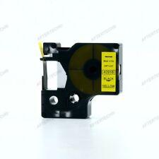 40918 NERO SU GIALLO NASTRO COMPATIBILE DYMO D1 CASSETTA LABELMANAGER 9mm