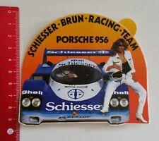 Aufkleber/Sticker: Schiesser Brun Racing Team - Porsche 956 (04011731)
