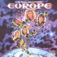 The Final Countdown by Europe (CD, Dec-1986, Epic)