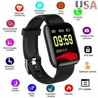 Smart Watch Bluetooth 4.2 Heart Rate/Oxygen Blood Pressure Sport Fitness Tracker