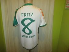 "Werder Bremen Kappa Trikot 2006/07 ""we win!"" + Nr.8 Fritz + Signiert Gr.M- L TOP"