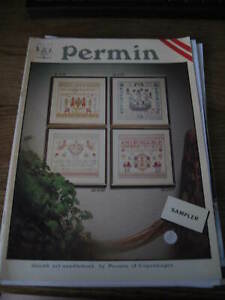 PERMIN CROSS STITCH CHART ONLY