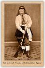 VIVANDIERE Kady C. Brownell 1st Rhode Island CIVIL WAR VNTAGE PHOTO CARD CDV RP