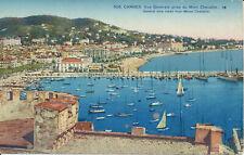 PC36831 Cannes. General view Taken from Mount Chevalier. Rostan et Munier. No 50