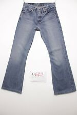 Levis 516 flare bootcut raccourci jeans d'occassion Cod.U623 Tg.43 W29 L34 homme
