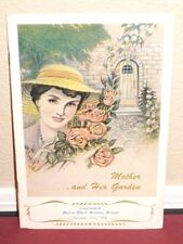 Mother and Her Garden Myton Ward Mother's Day Gift 1956 LDS Mormon Booklet Rare
