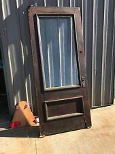 An 531 antique full view Eggendart beveled glass entrance door 36 x 83.25