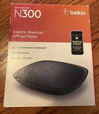 Belkin N300 Wifi N Router
