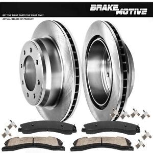 Rear Brake Rotors & Ceramic Pads For Nissan NV1500 NV2500 NV3500