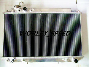 Aluminum Radiator For Toyota Cressida MX83 MARK II 7M-GE 3.0 1989-1993 AT/MT