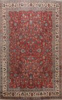 10x14 Antique Floral Traditional Wool Area Rug Handmade Oriental Large Carpet