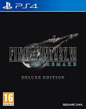 Final Fantasy VII remake-Deluxe Edition (Playstation 4) (PS4) - Envío Gratis