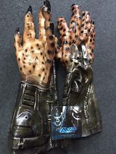 PREDATOR ADULT LATEX HANDS ALIENS VS PREDATOR GLOVES RUBIES COSTUMES