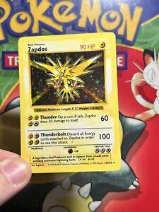 Pokemon - shadowless Zapdos Holo - 16/102 Base set lp 5445