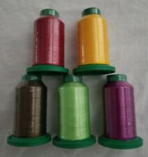 5 pack of Isacord Thread Kit Any colors you want( New in wrapper)