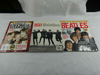 LOT OF 3 THE BEATLES GEORGE HARRISON BOOKS BOOKLETS MAGAZINES 2000'S
